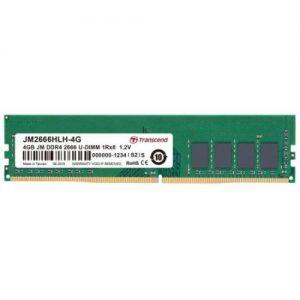 אונליין   Transcend 4GB 2666Mhz DDR4 CL19