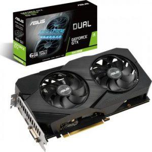 אונליין   ASUS DUAL GTX 1660 SUPER EVO 6GB GDDR6 DVI HDMI DP