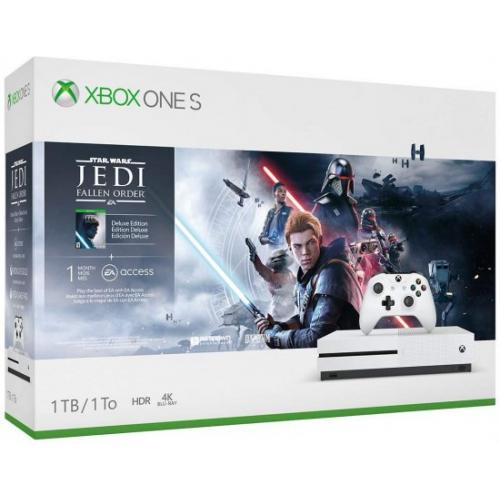 אונליין   Microsoft Xbox One S -  1TB   Star Wars 4