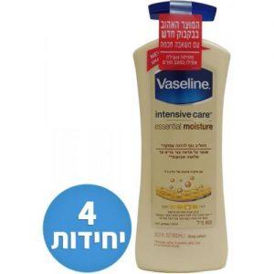 אונליין      Vaseline Intensive Care Essential Moisture  600 '' - 4