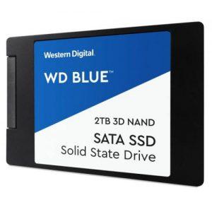 אונליין  Western Digital Blue 3D NAND WDS200T2B0A 2TB 2.5'' SSD