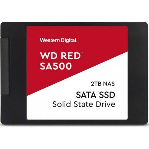 אונליין  Western Digital RED SA500 WDS200T2B0A 2TB NAS 2.5''' SSD