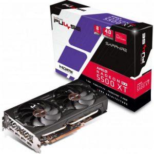 אונליין   Sapphire Radeon RX 5500 XT PULSE 8GB OC GDDR6 HDMI 3xDP