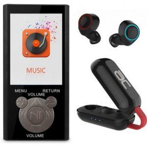 אונליין  MP3  Bluetooth   FM   Acoustic Concept - TWS -  8GB