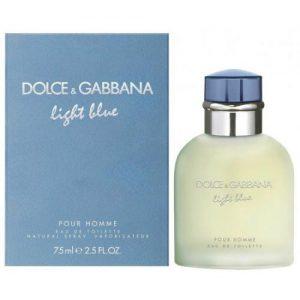 אונליין   75 '' Dolce & Gabbana Light Blue    E.D.T