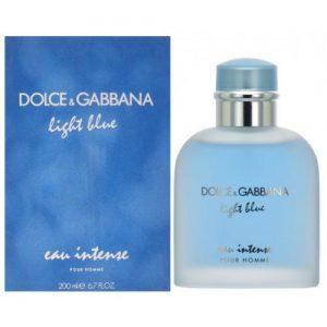 אונליין   200 '' Dolce & Gabbana Light Blue Eau Intense    E.D.P
