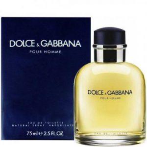 אונליין   75 '' Dolce & Gabbana Pour Homme