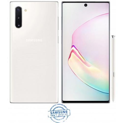 אונליין   Samsung Galaxy Note 10 8GB+256GB SM-N970F  Aura White -