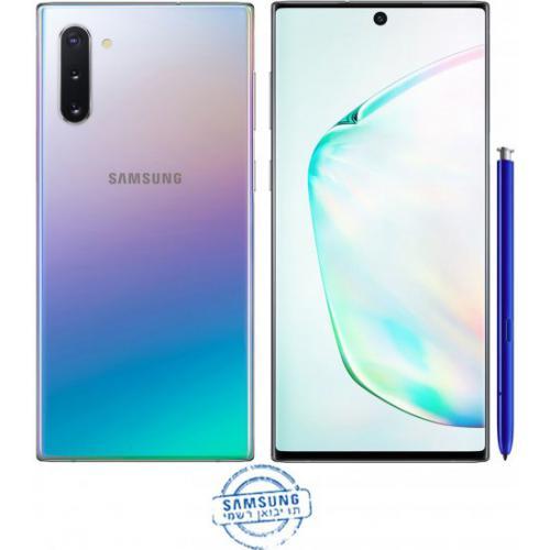 אונליין   Samsung Galaxy Note 10 8GB+256GB SM-N970F  Aura Glow -