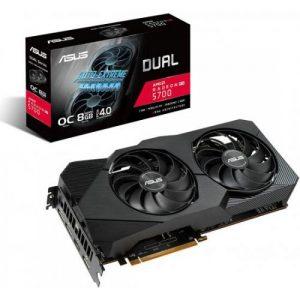 אונליין   Asus DUAL Radeon RX 5700 EVO OCG 8GB GDDR6 HDMI 3xDP