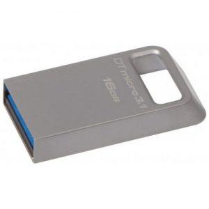 אונליין   Kingston DataTraveler Micro 16GB USB 3.1 DTMC3/16GB