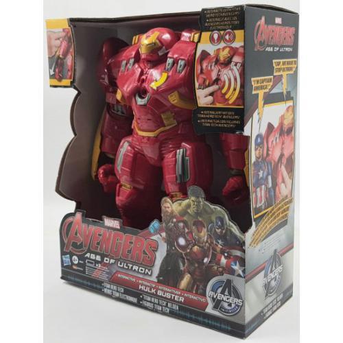 אונליין Marvel Avengers Titan Hero Tech Interactive Hulk Buster Figure