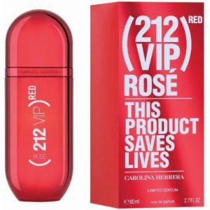 אונליין   80 '' Carolina Herrera 212 VIP Red Rose