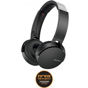 אונליין   On-Ear  Sony MDR-XB650BTB Bluetooth -