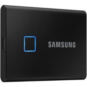 אונליין  SSD   Samsung T7 Touch USB 3.2 MU-PC1T0K/WW -  1TB -