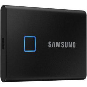 אונליין  SSD   Samsung T7 Touch USB 3.2 MU-PC2T0K/WW -  2TB -