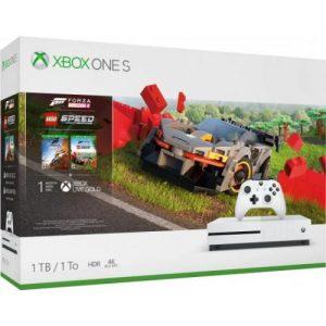 אונליין   Microsoft Xbox One S -  1TB   Forza Horizon 4 + LEGO Speed