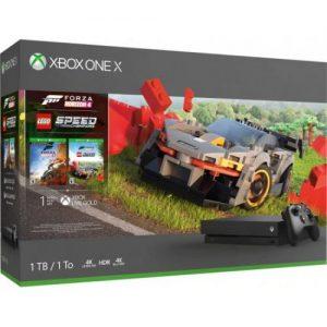 אונליין   Microsoft Xbox One X -  1TB   Forza Horizon 4 + LEGO Speed