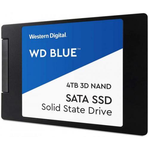 אונליין  Western Digital Blue 3D NAND WDS400T2B0A 4TB 2.5'' SSD