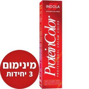 אונליין   Indola Protein Color #9    -   3