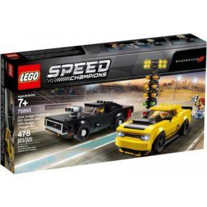 אונליין ' LEGO Speed Champions 75893 Challenger SRT Demon and 1970 Charger