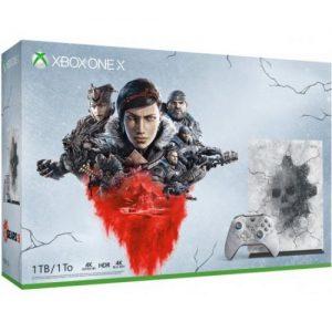 אונליין   Microsoft Xbox One X + Gears Of War 5 Limited Edition -  1TB