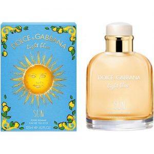 אונליין   125 '' Dolce & Gabbana Light Blue Sun