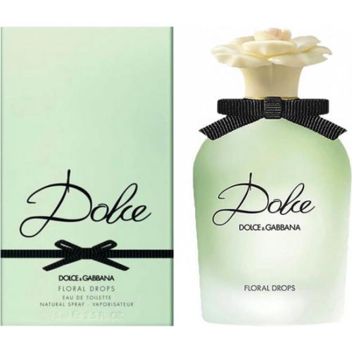אונליין   75 '' Dolce & Gabbana Floral Drops    E.D.T