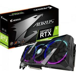 אונליין   Gigabyte AORUS RTX 2070 SUPER 8GB GDDR6 HDMI 3xHDMI 3xDP USB-C