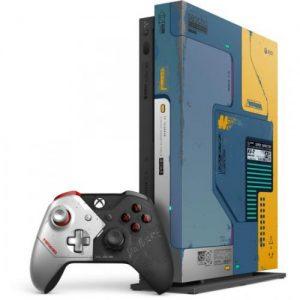 אונליין   Microsoft Xbox One X + Cyberpunk 2077 Limited Edition -  1TB