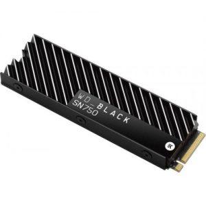 אונליין  Western Digital Black SN750 Heatsink WDS100T3XHC 1TB M.2 2280 PCIe NVMe SSD
