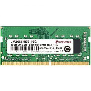 אונליין    Transcend 16GB DDR4 2666Mhz CL19 SODIMM