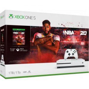 אונליין   Microsoft Xbox One S -  1TB   NBA 2K20
