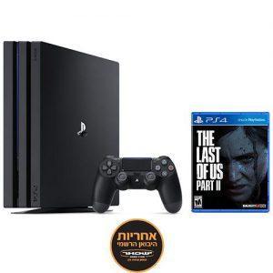 אונליין   Sony PlayStation 4 Pro 1TB -     The Last of Us Part II -