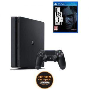 אונליין   Sony PlayStation 4 Slim 1TB -    The Last of Us Part II -