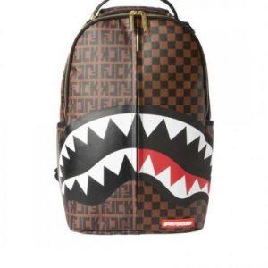 אונליין   Sprayground Split The Check Backpack