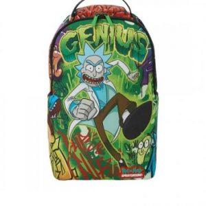 אונליין   Sprayground Rick & Morty Genius