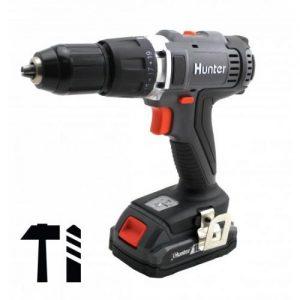 אונליין  /   Hunter Cordless Hammer Drill 18V 1.5Ah