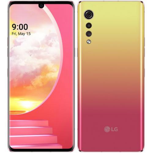 אונליין   LG Velvet 128GB LM-G910EMW -  IIllusion Sunset -