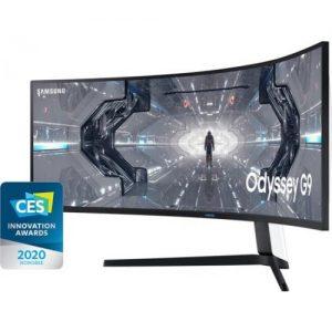 אונליין     Samsung Odyssey G9 C49G95TSSM HDR 49.0'' QLED VA 240Hz