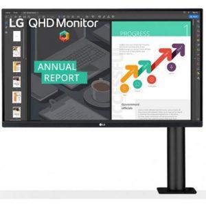 אונליין   LG Ergo 27QN880-B 27'' LED IPS -
