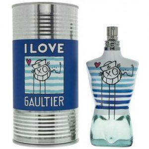 אונליין   125 '' Jean Paul Gaultier I Love Gultier Le Male Eau Fraiche    E.D.T