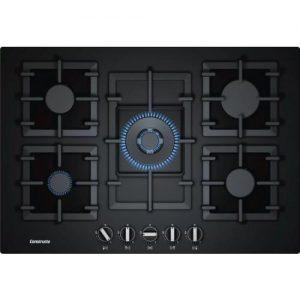 אונליין כיריים גז 5 להבות בישול Constructa CA264691IL - צבע שחור - שנה אחריות יבואן רשמי BSH