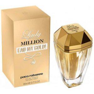 אונליין   80 '' Paco Rabanne Lady Million Eau My Gold    E.D.T