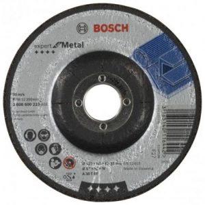 אונליין    5''  6 '' - Bosch Grinding Disc Expert For Metals