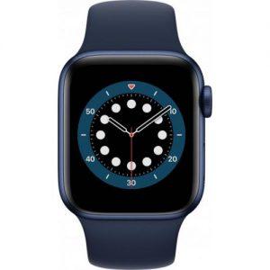 אונליין   Apple Watch Series 6 GPS + Cellular 40mm   Blue Aluminum   Deep Navy Sport Band