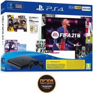 אונליין   Sony PlayStation 4 Slim 500GB -    FIFA 21 -