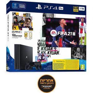 אונליין   Sony PlayStation 4 Pro 1TB -   +     FIFA 21 -