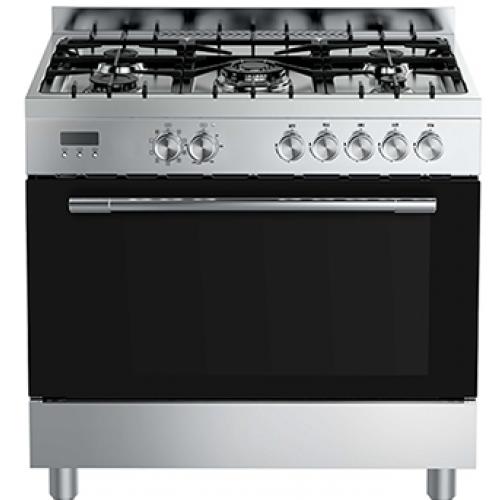 אונליין תנור משולב כיריים 109 ליטר Midea 36QMS5GP48- צבע נירוסטה