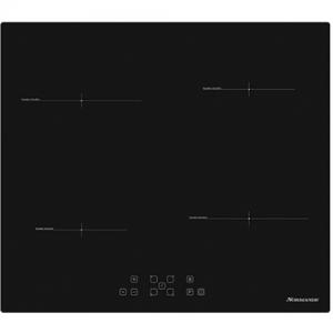 אונליין כיריים 60 ס''מ אינדוקציה 4 טבעות חימום Normande ND-6100-צבע שחור